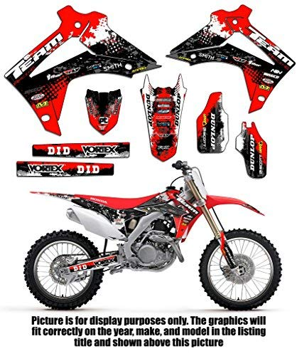 Team Racing Graphics kit compatible with Honda 2000-2001 CR125/250R, SCATTER