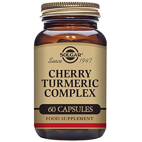 Solgar Cereza y Cúrcuma Complex Cápsulas vegetales - Envase de 60