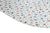 Fox Valley Traders Buds 'n Blooms Vinyl Elasticized Table Cover 42