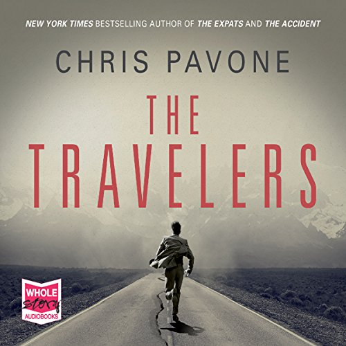 The Travelers audiobook cover art