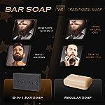 Bossman Men's Bar Soap 4 in 1 Beard Wash, Shampoo, Body Wash and Conditioner, 4 oz 3