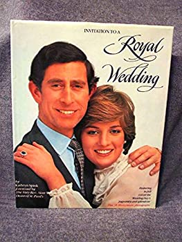 Hardcover Invitation to a Royal Wedding Book