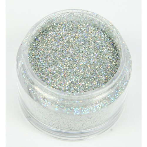 Schillerndes Dekorations Glitzer: Silber Hologram/Holly Cupcakes Decorating Glitter: Silver Hologram