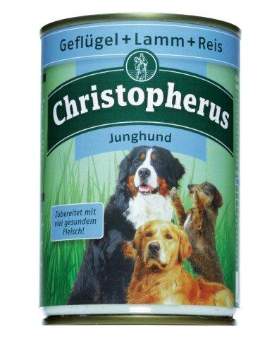 Allco | Christopherus Junghund Geflügel + Lamm + Reis | 6 x 400 g