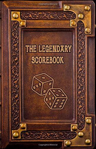 The Legendary Scorebook Immortalize your board game nights Board Game Scorebooks product image