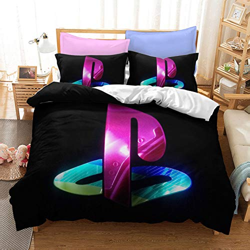 Duvet Cover Sets Bedding,Teen Boys Gamepad Gaming ps5 Playstation Console ps4 Controller,Video Games...