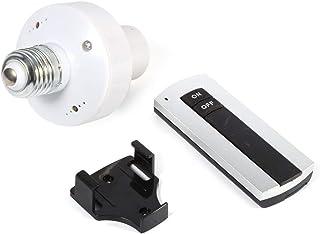 Casquillo de rosca E27 con mando a distancia inalámbrico para lámpara de techo interruptor de enchufe 220 V