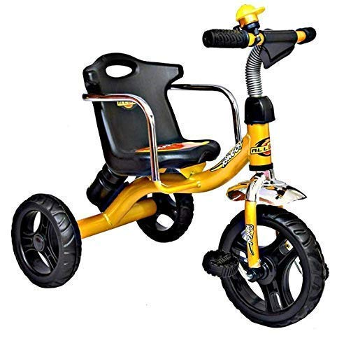 CHILDSTAR WITH DEVICE Tricycle with Side Safety armrest Long Rest Back seat for 1 Year Above (Now Assembled Delivered)