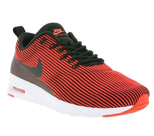 Nike Damen W Air Max THEA KJCRD Turnschuhe, Black (Schwarz/Schwarz-Brght Crmsn-weiß), 40 EU