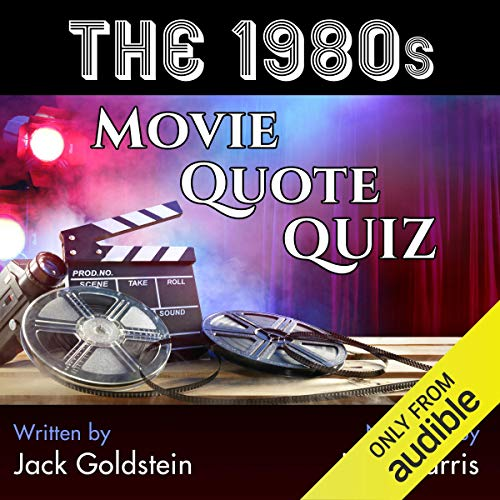 The 1980s Movie Quote Quiz audiobook cover art