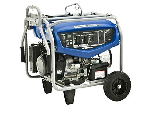 Yamaha EF5500DE, 4500 Running Watts/5500 Starting Watts, Gas Powered Portable Generator