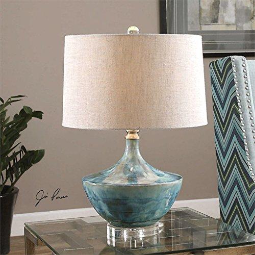 William 337 Nouvelle Lampe de Table en Céramique Chinoise - Moderne Haut de Gamme Maison Salon, Lampe de Lit (0745)