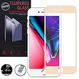 ShopInSmart® Hochwertige gehärtete Panzerglasfolie für Apple iPhone 8 Plus 5.5