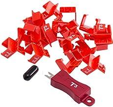 RDT3-20 20 Pk Rj45 Snap Lock with 1Key - 9328202020000