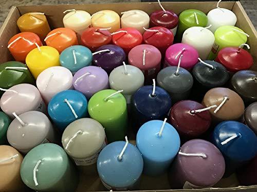 5 Kg HMH Stumpen Kerzen gemischt Kerzen verschiedene Größen und Farben Stumpenkerzen (4,19€/kg)