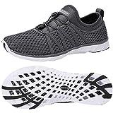 ALEADER Men's Xdrain Classic 3.0 Water Shoes Dark Gray 8.5 D(M) US