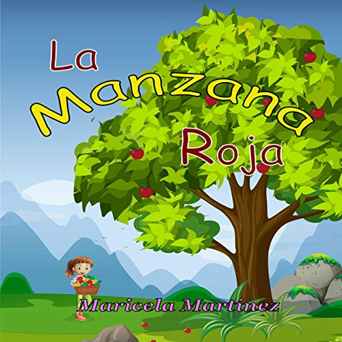 La manzana roja [The Red Apple] audiobook cover art