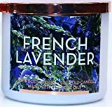 Bath & Body Works White Barn 3-Wick Scented Candle in French Lavender