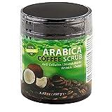 Ideal Products Exfoliante Corporal de Café Arábica 100% Natural, con Coco y Aceite...