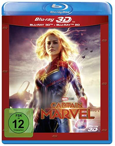 Produktbild von Captain Marvel [3D Blu-ray]
