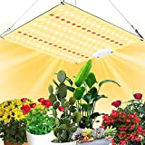 Grow Light, 225Pcs Samsung Quantum LED Plant Light Board Diode UV IR Included, 600W Full Spectrum Phyto Lamp for Indoor Plants, Veg Flowers Hydroponics System, 2x2ft Coverage