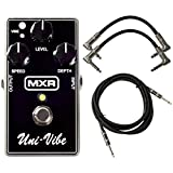 MXR M68 Uni-Vibe Chorus/Vibrato Analog Guitar Effect Pedal + Cables