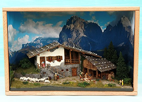 Alpenländischer Bauernhof 1:87