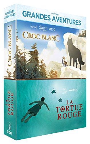 Collection Films d'animation - Tortue Rouge / Croc Blanc - Coffret DVD
