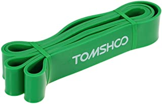 TOMSHOO Exercise Resistance Loop Bands,Strength Training Loops Bands for Gym Physical Therapy Home Fitness