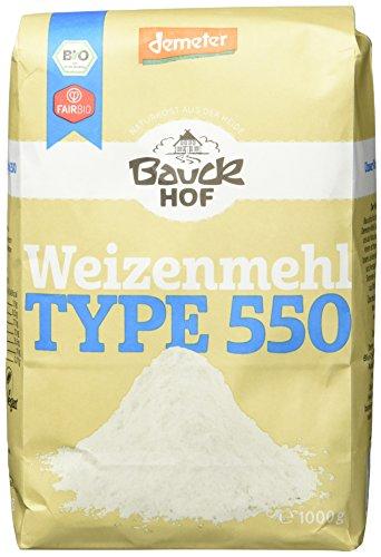 Bauckhof Weizenmehl Typ 550 Demeter, 1 kg