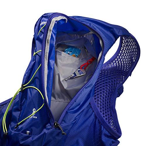 Salomon Active Skin 8 Set Unisex Hydration Vest 8L Trail 2x Soft Flasks Incl. Running Hiking