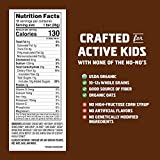 Clif Kid ZBAR - Organic Granola Bars - Chocolate Brownie - (1.27 Ounce Energy Bars, Lunch Box Snacks, 18 Count)