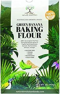 Harina de Plátano Verde Sin Gluten (454g)