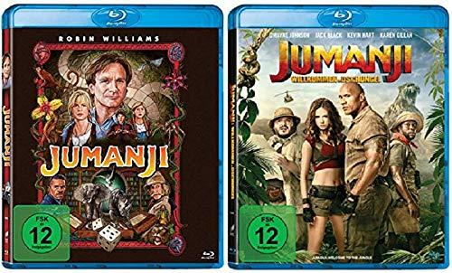 Jumanji + Jumanji: Willkommen im Dschungel [Blu-ray Set] Jumanji 1+2