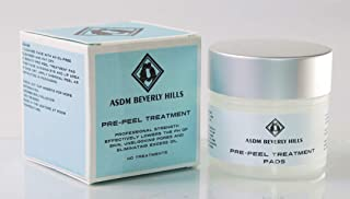 ASDM Beverly Hills Pre Peel Treatment- Professional Strength, Alcohol & Acetone Free, Works Great on All Chemical Peels with Exfoliant Glycolic Acid and Lactic Acid – 40 Treatments
