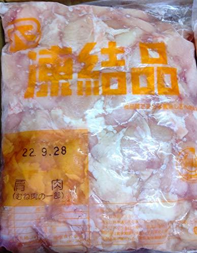 国産 鶏肩肉 むね肉の一部 2kg×6袋 冷凍 業務用 胸肉