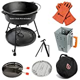 7-Piece Dutch Oven Tool Set – Award Winning Accessories Turn Your Cast Iron Pots Into a Grill,...