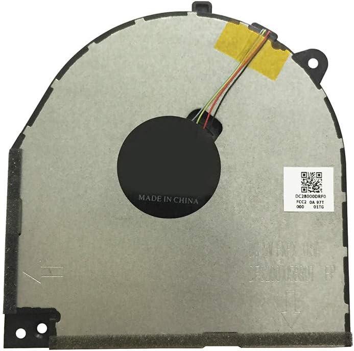 Laptop GPU Cooling Fan Cooler for Lenovo Legion Y7000 Y530 Y530-15ICH Series DC28000DRF0 4-pin 5V (GPU Fan)