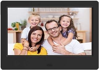 HUALEIYUAN AU 7 Inches HD Digital Photo Frame Video Player Digital Photo Frame with Music, Video Function Digital Frame (C...