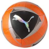 PUMA Icon Ball Balón de Fútbol, Unisex-Adult, Shocking Ora