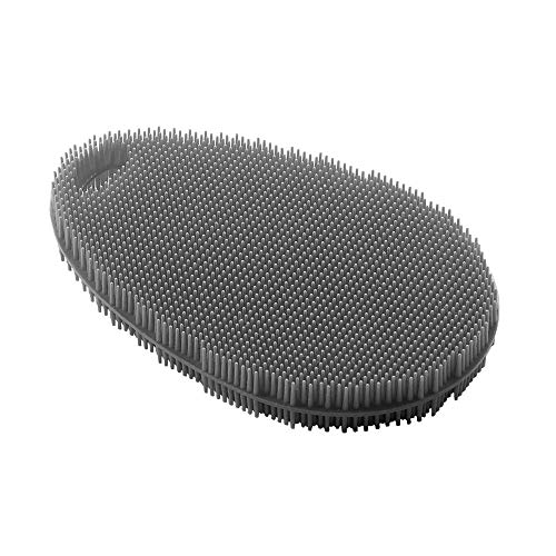 Metaltex 297615000 Estropajo, Silicona, Negro