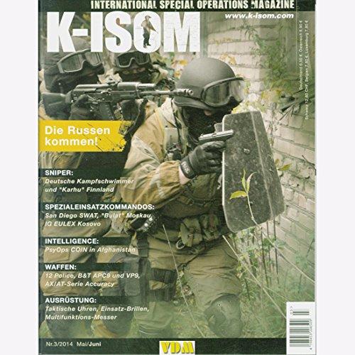 K-ISOM 3/2014 Spezialkräfte Magazin Kommando Bundeswehr Waffe Eliteeinheiten Sniper