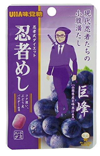味覚糖旨味シゲキックス忍者めし巨峰味20G×10袋