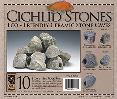 Underwater Galleries AUG6753 10-Pack Big Rock Box