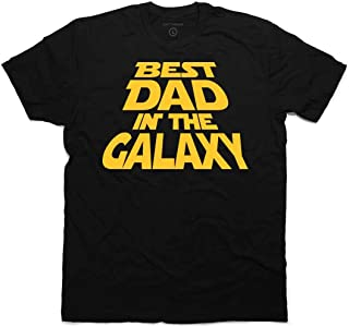 Best Dad in The Galaxy T-Shirt, for Dad & Bonus Sticker.