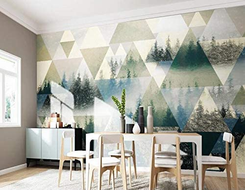 3D Forest Max 61% OFF 2419 Wall Paper Mural Decal Deco New product type Print Self-Adhes