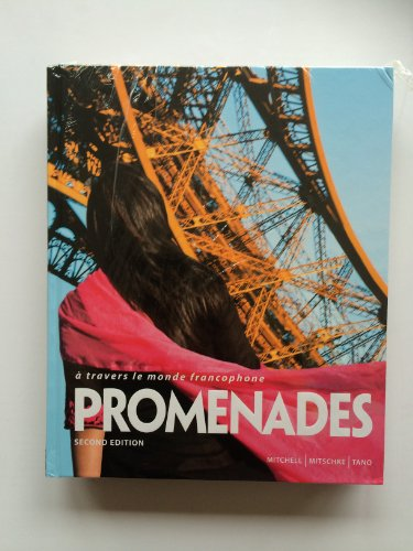 Promenades 2nd Edition Bundle - Student Edition, Supersite Code, Workbook/Video Manual and Lab Manual (Promenades 2nd)