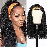 Pelo natural humano pelucas mujer pelo natural rizado ondas pelo human hair wig 22inch(55cm) con cintas pelo mujer peluca rizos negra water wave