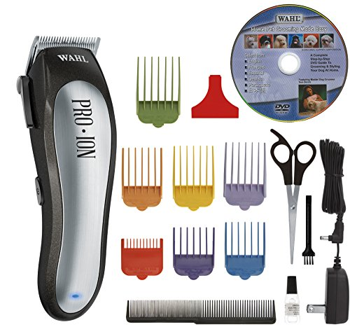 Wahl Professional Animal Pro Ion Pet, Dog, and Cat Cordless Clipper Kit (#9705)