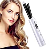 Cordless Curling Irons, KEYNICE Curling Wand Tongs with 5200mAh Rechargeable Battery, Heat up